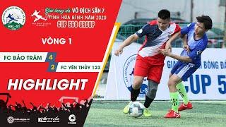 Highlights: FC BẢO TRÂM - FC YÊN THỦY 123 | Vòng 1 - HBL S1 2020