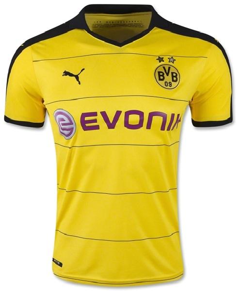 Áo clb Dortmund vàng sân nhà
