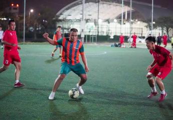 Anh Quyên FC và Sacombank FC đá giao hữu chào Xuân Tân Sửu 2021.