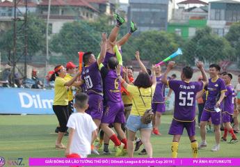 Giải bóng đá Lão tướng Thủ đô năm 2019: Dilmah tiếp tục cuộc đua song mã - Dilmah Cup chấm dứt cuộc phiêu lưu của