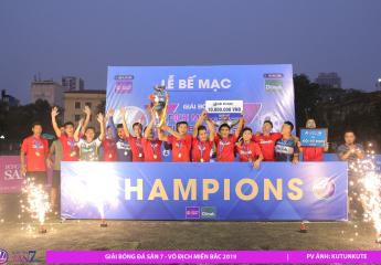 HẠ MÀN VÔ ĐỊCH MIỀN BẮC 2019: Lucky Thanh Hà xuất sắc giành giải ba, Dilmah lần đầu lên ngôi vô địch.