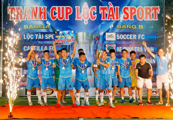 Giải bóng đá U21+1 Vĩnh Long mở rộng - Cúp Lộc tài Sport lân 1 năm 2019:Kịch tính