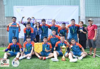 Bế mạc Giải Tứ Hùng KDC Quận 12: Tranh Cup Giày Thái Dương
