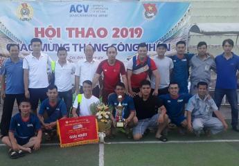 Viags Đà Nẵng bảo vệ thành công chức vô địch Giải bóng đá Tháng Công Nhân