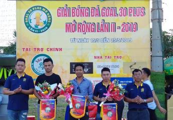 Khai mạc Giải bóng đá Goal 30 Plus mở rộng lần 2 năm 2019 | Ketnoibongda.vn