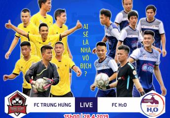 Nhận định trận chung kết Giải bóng đá hạng nhì SLT-S2 năm 2019 | Trung Hưng⚔️H₂O : Ai sẽ là nhà vô địch?