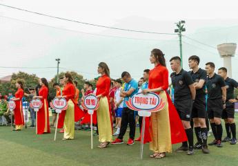 Tưng bừng Khai mạc Giải bóng đá Vô địch sân 7 Bắc Miền Trung – Cup Vinataba 2021