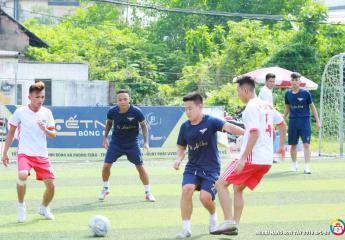 FC Tản Viên vô địch trước 1 vòng đấu  Vòng 8 Giải bóng đá ngoại hạng Sơn Tây lần thứ 2 – năm 2018 (SPL-S2)