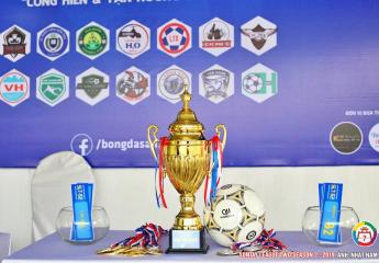 Họp báo kỹ thuật & bốc thăm chia bảng | Giải bóng đá phong trào hạng nhì Sơn Tây lần thứ 2 - năm 2019