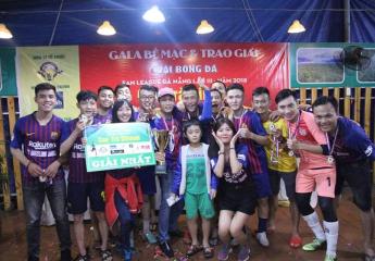 Kết thúc giải bóng đá Fan League Đà Nẵng lần 3 năm 2018 - Cup Trà Dilmah: Hạ màn kịch tính nhưng không có bất ngờ.