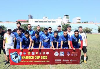Hấp dẫn giải bóng đá Danang League lần I năm 2020 - Cup Khatoco