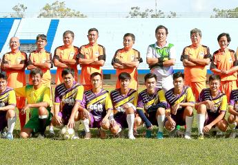 GIAO LƯU BÓNG ĐÁ: Relax FC Vĩnh Long thua CTT TP Hồ Chí Minh 2-3