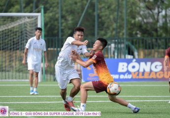 Vòng 5 Super League – S1 2019: EOC chiếm thế thượng phong trong cuộc đua vô địch, Du Lịch đè bẹp MV Crop, Trà Dilmah và Tuấn Sơn bất phân thắng bại trong khi đó DTS hạ sát Ocean.