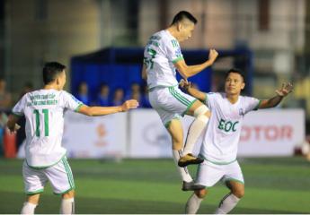 Vòng 7 giải bóng đá 7 người vô địch toàn quốc Huyndai Cup 2019 by TC Motor(HPL-S7): Màn rượt đuổi kịch tính và những bàn thắng phút chót