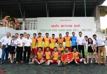 Phúc Hoàng Ngọc vô địch Giải bóng đá tranh Cúp Phúc Hoàng Ngọc mở rộng lần 2 năm 2019.