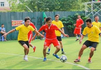 Vòng 6 Dilmah League:  Nước rút, đội nào cũng muốn thắng |  Giải bóng đá Lão tướng thủ đô lần thứ 5 – 2018