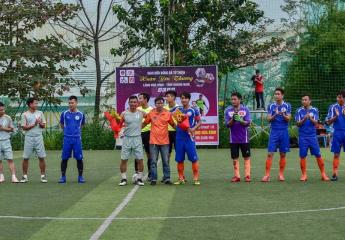 Giao hữu bóng đá từ thiện