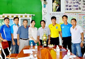 Giải bóng đá THCS TP Vĩnh Long - Cúp Nguyễn Trường Tộ Lần 9 - năm 2020 | 8 đội tranh tài