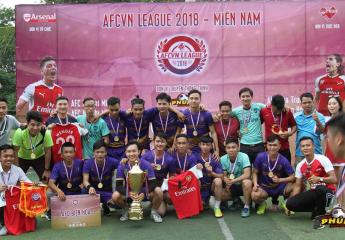 Bế mạc giải bóng đá AFCVN League 2018 - Miền Nam   Cúp về Cù Lao Phố TP Biên Hoà