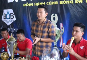 Họp chuyên môn & Bốc thăm chia bảng Giải bóng đá U23 Futsal - Tranh Cup BOB Coffee (Đồng Tháp)