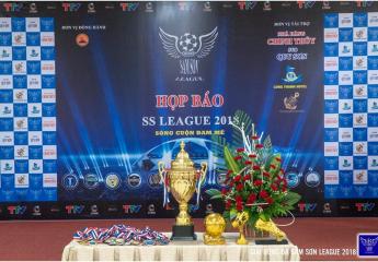Họp báo bốc thăm, giới thiệu giải Vô địch các câu lạc bộ bóng đá Sầm Sơn năm 2018 - Sầm Sơn League 2018