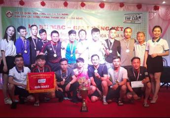 Hạ màn - Tĩnh Gia lên ngôi  Giải bóng đá Hội đồng hương Thanh Hóa lần 5 năm 2018 tại Đà Nẵng
