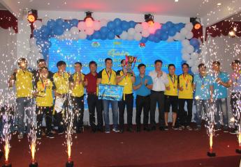 Vòng 5 giải bóng đá VNA League khu vực Miền Trung: Thắng đậm Chi nhánh Miền Trung, Skypec Đà Nẵng giành huy chương đồng.