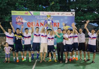WINLAND FC VÔ ĐỊCH GIẢI BÓNG ĐÁ ĐỒNG HƯƠNG QUẢNG TRỊ TẠI ĐÀ NẴNG 2018