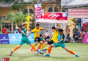 Kết thúc vòng bảng giải bóng đá Vô địch sân 7 Thừa Thiên Huế - Tranh Cup Bulbal 2021 (TPL-S1): Vắng bóng 4 đội bóng chủ nhà tại bán kết.