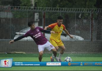Trí Tùng lập cú đúp giúp FC Men ghi tên mình vào vòng bán kết sớm 1 vòng đấu, Tùng Sơn Anh tiếp tục có trận hòa thứ 2 | Giải bóng đá Thanh Hóa Champions League cúp Thu Tùng Shop – 2019