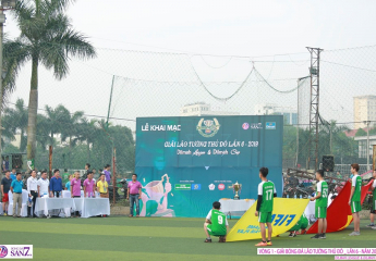 Khai màn giải bóng đá Lão tướng Thủ đô - Lần thứ 6 năm 2019: Đương kim vô địch LT Công An HN nhọc nhằn giành 3 điểm, LT Bảo Linh đánh rơi chiến thắng đầy tiếc nuối dù chơi hơn người.