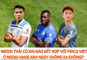 Thương hiệu Việt được gắn logo trên áo đấu của Leicester City