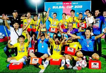Hiệp Thành FC (TP Hồ Chí Minh) đăng quang | Giải Bóng đá phủi sân 7 người- Bulbal Cup Vĩnh Long lần 1- 2019