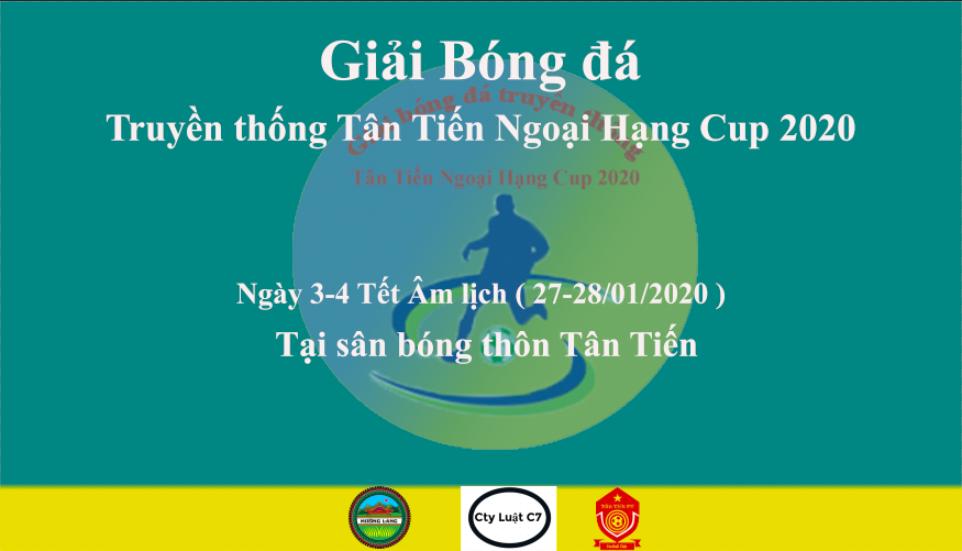 Truyền thống Tân Tiến Ngoại Hạng Cup 2020