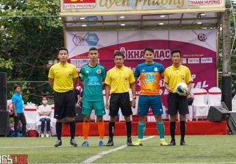 Cập nhật bảng A giải bóng đá Vô địch sân 7 Thừa Thiên Huế - Tranh Cup Bulbal 2021 (TPL-S1): Thủy Tân FC và Anh Pháp FC khởi đầu thuận lợi.