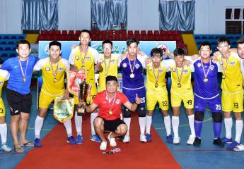 GIẢI FUTSAL U19 VĨNH LONG- PVL CÚP 2020: Thắng U17 Lộc Tài 3-2, Justin Sport giành chức vô địch
