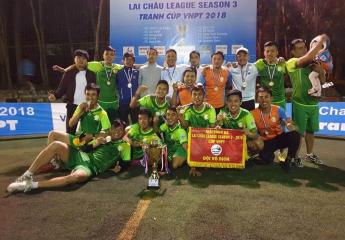 Lai Chau League hạ màn, Fc Đồng Đội lên ngôi một cách thuyết phục và kịch tính.