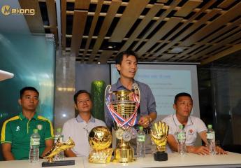 Họp báo công bố giải bóng đá Cửu Long Cup lần 1 - Năm 2019