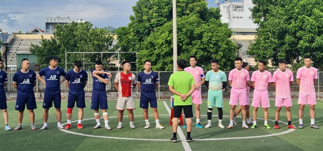 VÒNG 1 FC CÂN HÀ VS FC XÂY DỰNG
