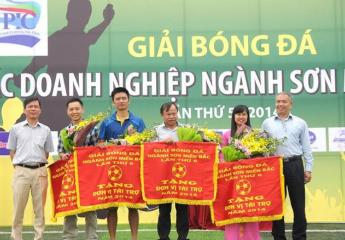 Khởi động Giải bóng đá các doanh nghiệp Sơn miền Bắc lần thứ 9 - năm 2018.