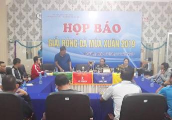 Chi hội cựu cầu thủ Quảng Nam - Đà Nẵng tổ chức Họp báo và bốc thăm Giải bóng đá Mùa Xuân 2019