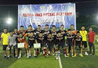 Đà Nẵng FC Vô địch Giải bóng đá tứ hùng Globalinks Futsal Academy Friendships Cup lần 1 năm 2018