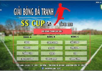 Họp báo bốc thăm, giới thiệu Giải bóng đá tranh cup SS lần 3 năm 2018 (SS Cup lần 3-2018)
