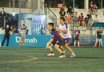 Vòng 5 Fan League Đà Nẵng lần 3 năm 2018 - Cup Trà Dilmah: Hạ đối thủ cạnh tranh trực tiếp FCB Đà Nẵng với tỷ số 2-5 LFC Đà Nẵng vững vàng ngôi đầu bảng