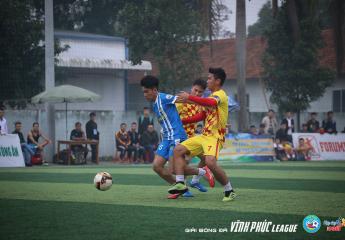 Vĩnh Phúc League 2018: Vòng đấu áp chót cuộc đua ở hai đầu bảng xếp hạng vẫn chưa ngã ngũ.