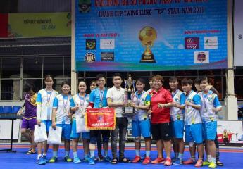 Kết thúc Giải bóng đá nữ phong trào thành phố Đà Nẵng - Tranh Cúp Twingkling Star năm 2019 | Phoenix Blue giành chức vô địch