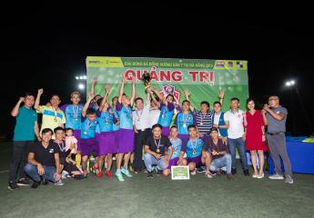 HĐH Thâm Khê Vô địch Giải bóng đá Quảng Trị Cup 2019 tại Thành phố Đà Nẵng