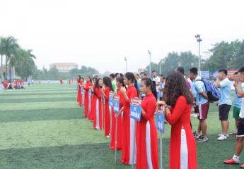 Cơn mưa bàn thắng ngày khai mạc giải bóng đá Vĩnh Phúc League 2018