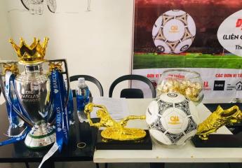 Lễ bốc thăm và công bố nhà tài trợ chính giải bóng đá Ngọc Vàng Sport - KV Luxury Cup 2018